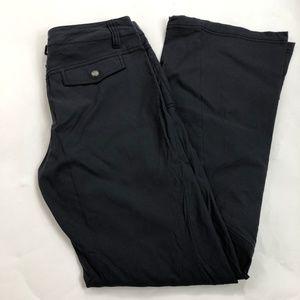 Athleta Pants - Athleta Dipper Dark Gray Nylon Pants